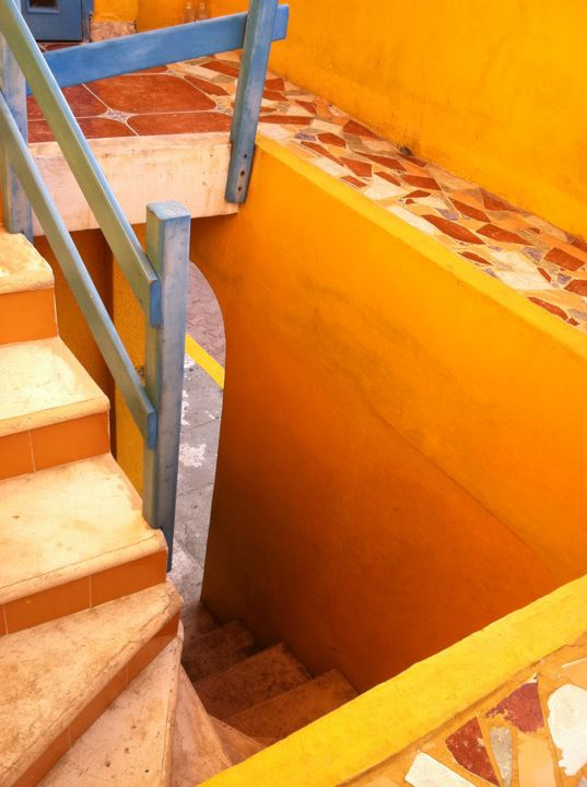Isla Mujeres staircase 2