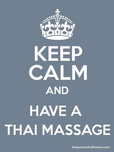 keep calm thai