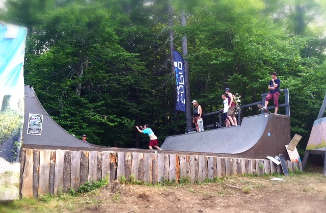 frendly halfpipe