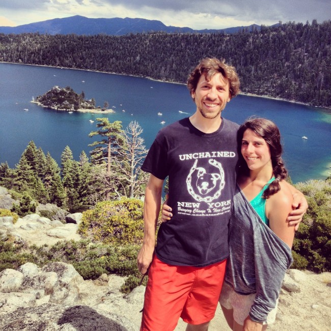 Hiking at Emerald Bay State Park