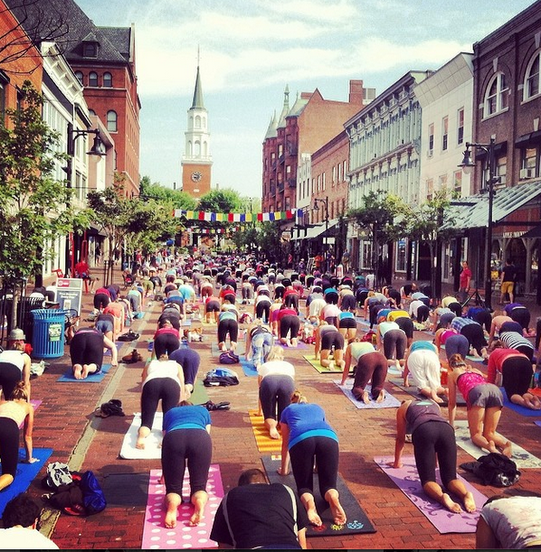 Lama Migmar_Yoga on Church Street 2014 class