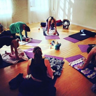 baby yoga at prenatal method 1